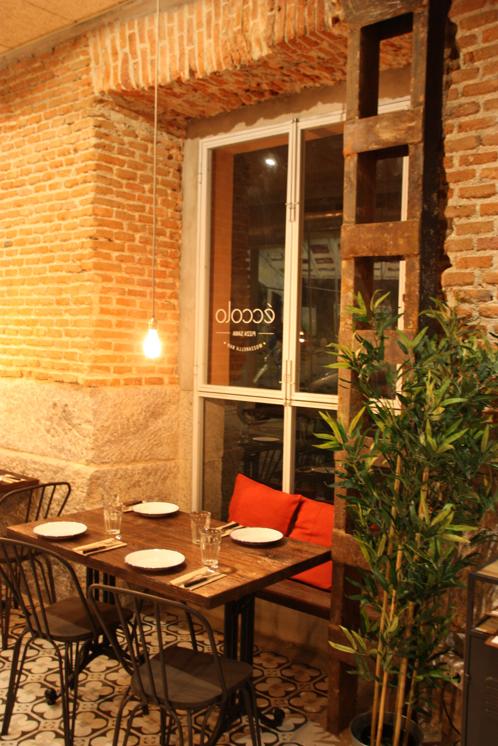 ECCOLO PIZZA EN MADRID