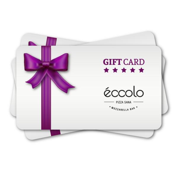 TARJETA REGALO GIFT CARD ECCOLO